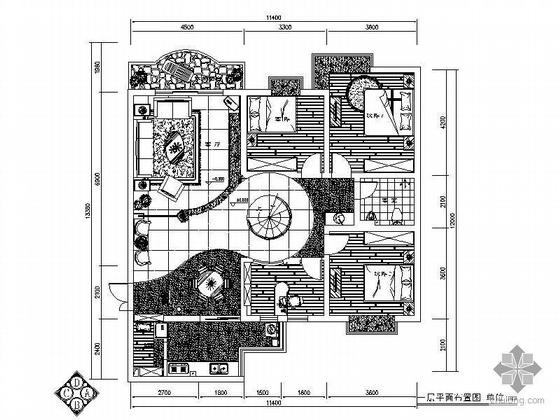 [重庆]现代跃层式装修图