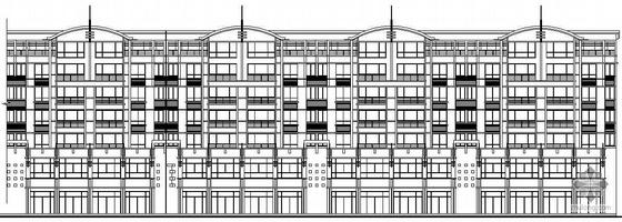 某七层底商板式住宅建筑施工图