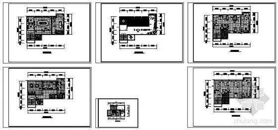 某办公楼平面布置图-4