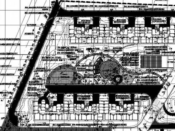 [桐乡]居住区组团绿地景观工程施工图