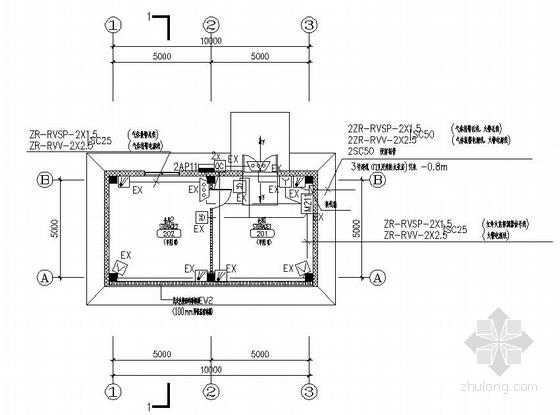 苏州某船用设备公司厂房智能化弱电系统施工图