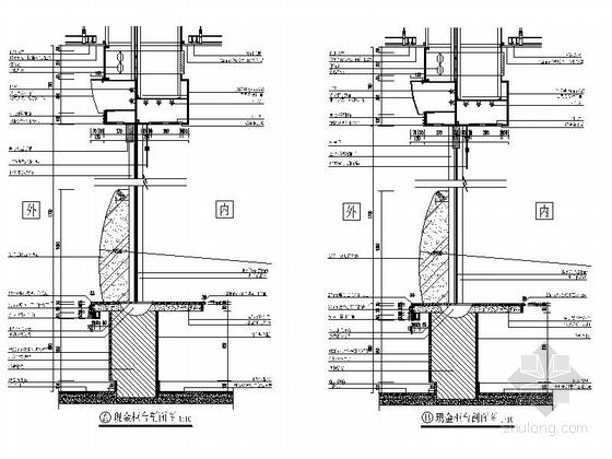 [北京]现代综合金融服务机构国际支行装修施工图大样图