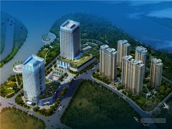 [福建]现代风格办公楼及五星级酒店设计方案文本(含CAD)