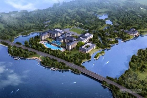 [江西]新中式四坡顶滨水园林式接待中心建筑设计方案文本