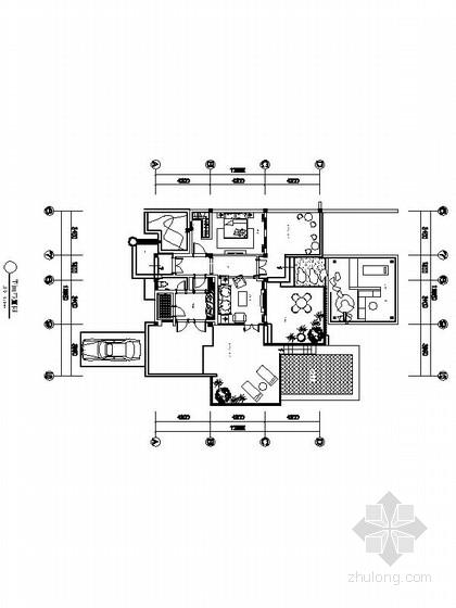 [石家庄]北美风格酒店式公寓室内CAD设计施工图