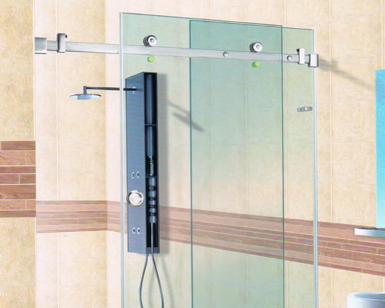 随着玻璃门越来越多,对玻璃配件的质量要求更严格-SLS0050-SY