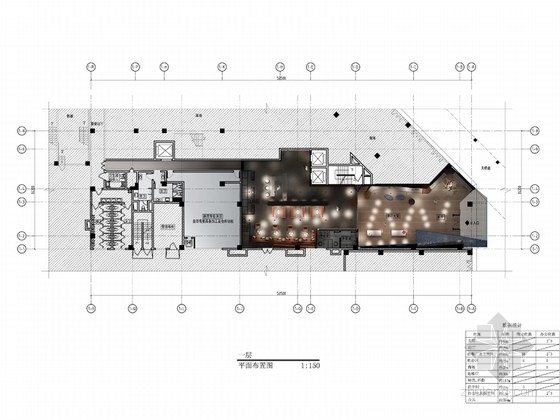 [广州]全球连锁唯美大气酒店公共空间设计方案(含效果图)