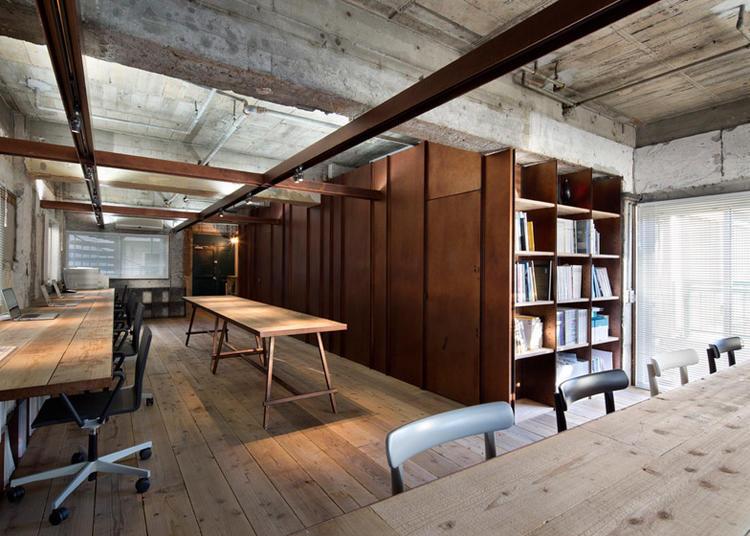 建筑师给自己设计的办公室,什么样的都有_17