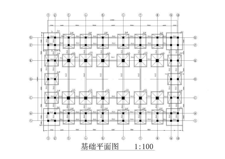 [河北]寺庙大雄宝殿一层砖混框架结构施工图