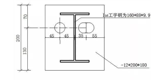 一种新型短肢工字钢悬挑脚手架!