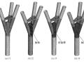 钢管结构树形柱分叉节点承载力非线性分析论文