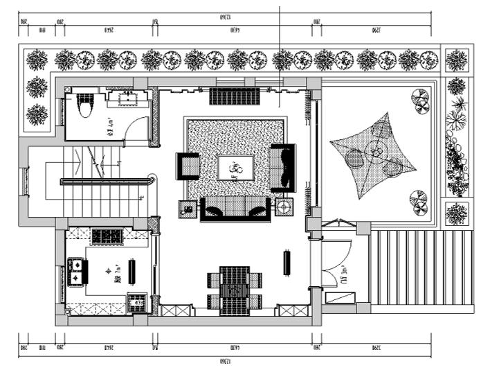 [江苏]某三层高档别墅室内施工图