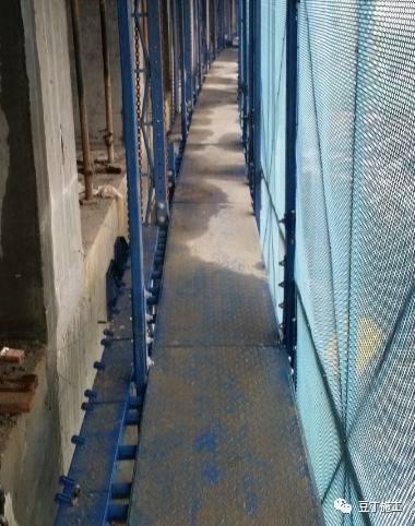 一种新型全钢式升降脚手架,在这里施工就像在室内施工一样_30