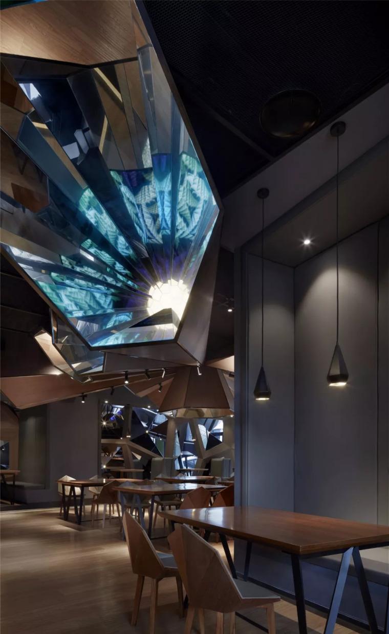 北京蓝色港湾花酷餐厅设计案例欣赏_13
