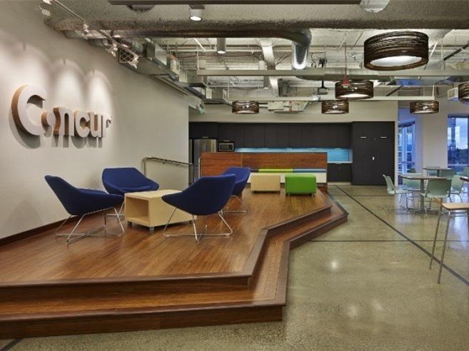 现代Concur办公空间-现代Concur办公空间第1张图片