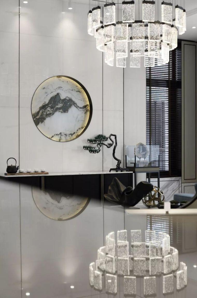 质朴材质也能构建空间气质,顶级别墅样板间设计_5
