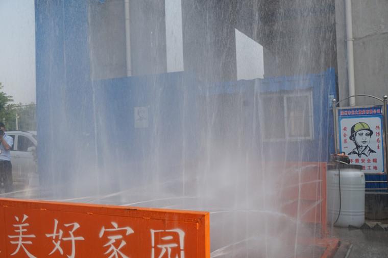 滨州高新区开展建筑施工扬尘治理行动