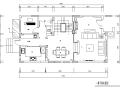 新古典主义风格300平米独栋别墅设计施工图(附效果图)