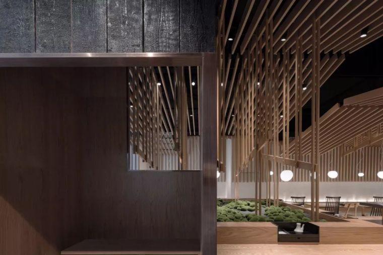 一家115平方米日式小面馆,如何打造出非凡的设计气质?