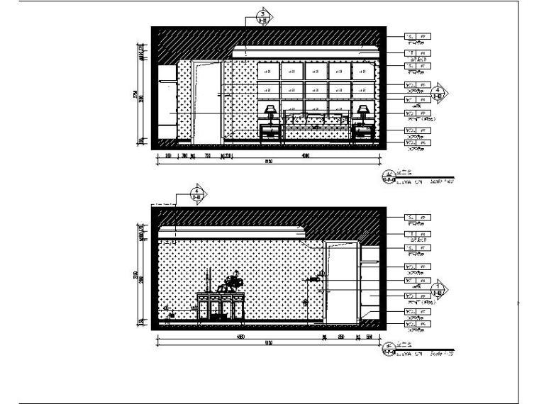 [青岛]法式浪漫精品三居室装修设计施工图(含实景图)_3