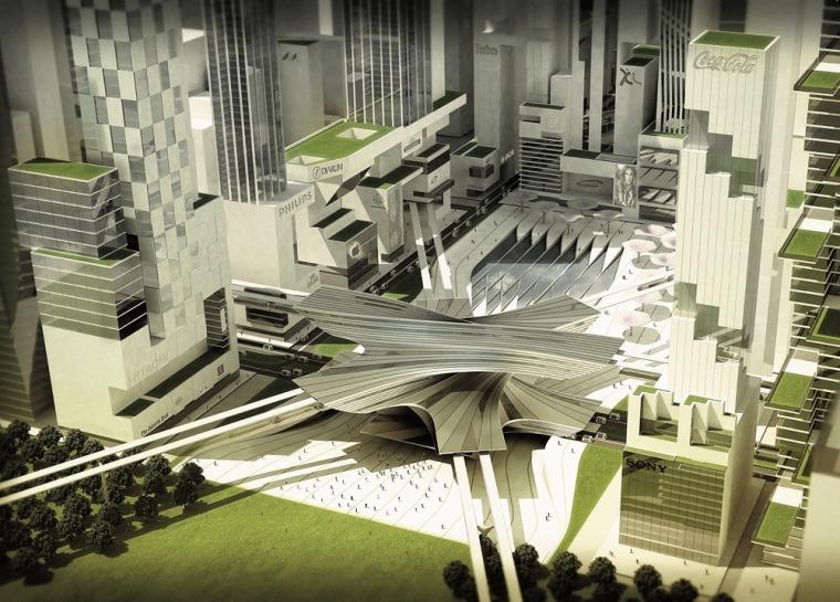 雅加达绿色曼哈顿总体规划-7