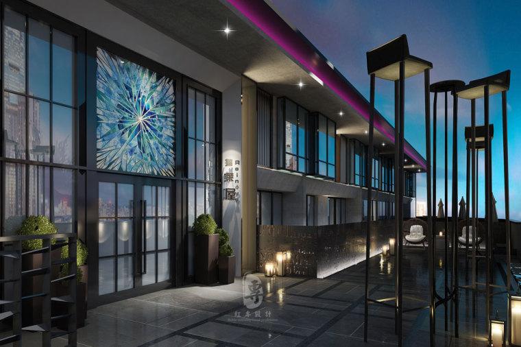 成都精品酒店设计—红专设计 贵阳瑞莱精品酒店