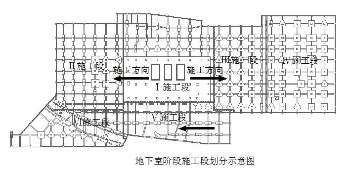 地铁控制中心施工组织设计(含各阶段平面布置图,dwg格式)
