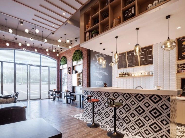 贺州钟山彰泰城咖啡厅