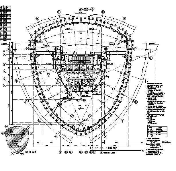 [上海]国际知名设计院办公楼最终审核图纸(16年最新)_9