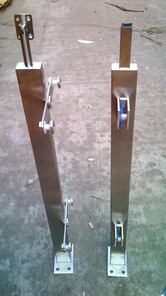 天波全部型号定制空心管立柱厂家直销 质量保证