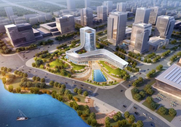 [江苏]高层现代风格四套五星级酒店投标方案