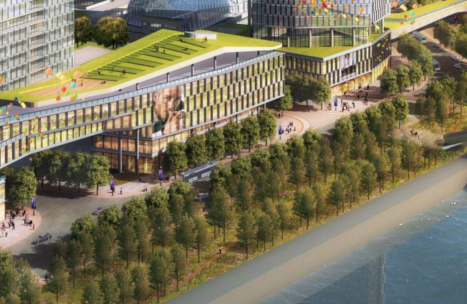 [浙江]立体绿城生态雨洪花园居住区景观设计方案