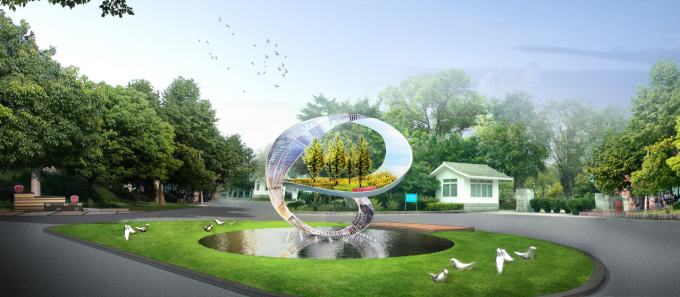 """[广东]""""源代码""""科技创意生态道路景观改造设计方案_1"""