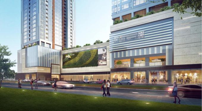 [广东]国际商业中心项目商业空间设计(100%方案设计汇报)
