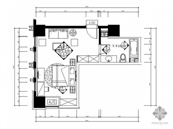 简约小户型室内设计图