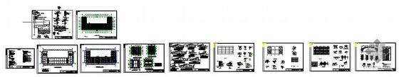 某市一办公楼加层改造及维修工程图纸