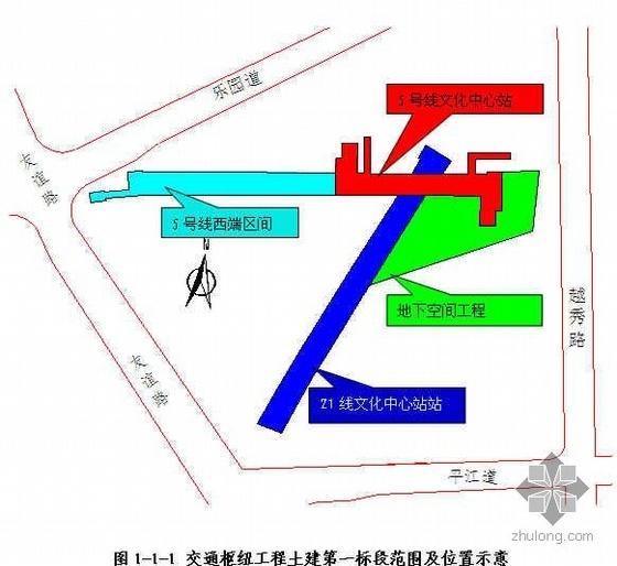 天津某文化中心地下交通枢纽工程创优策划(海河杯 鲁班奖)