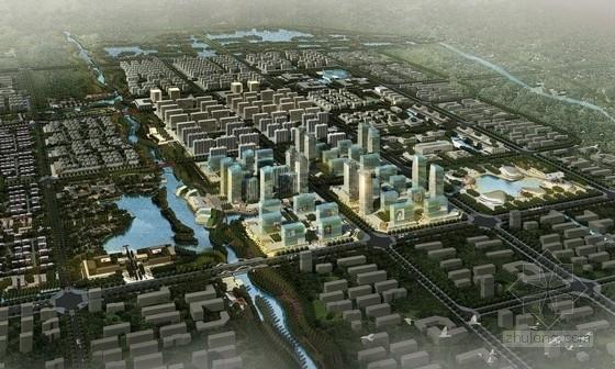 [山东]大型城市综合体规划及单体设计文本