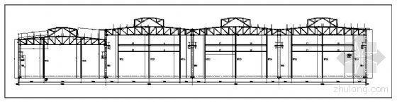 广州某火车站钢结构制作加工详图
