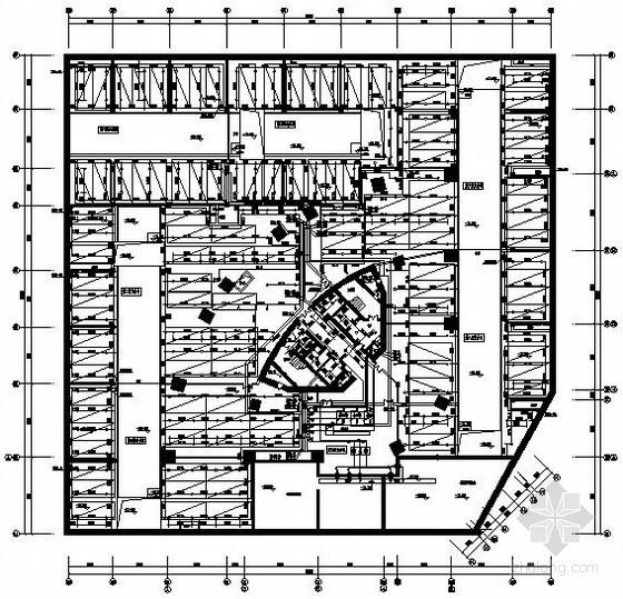 [海南]某国际酒店给排水消防全套施工图纸(含气体灭火系统、太阳能热水系统、水幕给水系统)