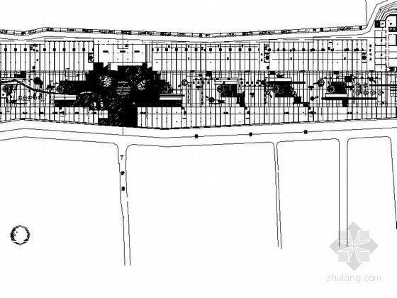 规则式公园景观设计施工总图