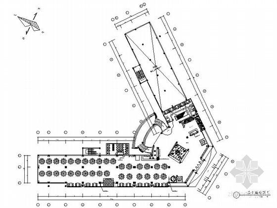 精品欧式酒店室内装修设计施工图