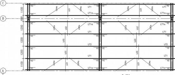 仓储-加工棚混合结构施工图