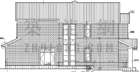 某别墅区设计方案(B)型-2