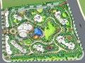 [杭州]滨江新区流线型居住区景观概念设计方案(国内知名景观设计公司)