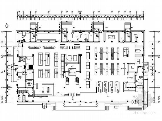 [原创]某大型豪华时尚超市CAD施工图
