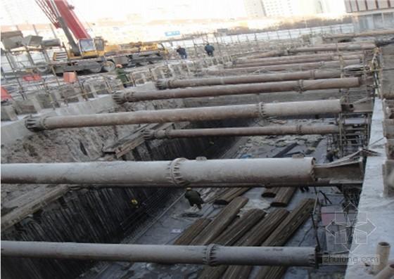 建筑工程型钢水泥土复合搅拌桩支护结构技术