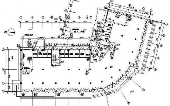 某六层办公综合楼给排水施工图