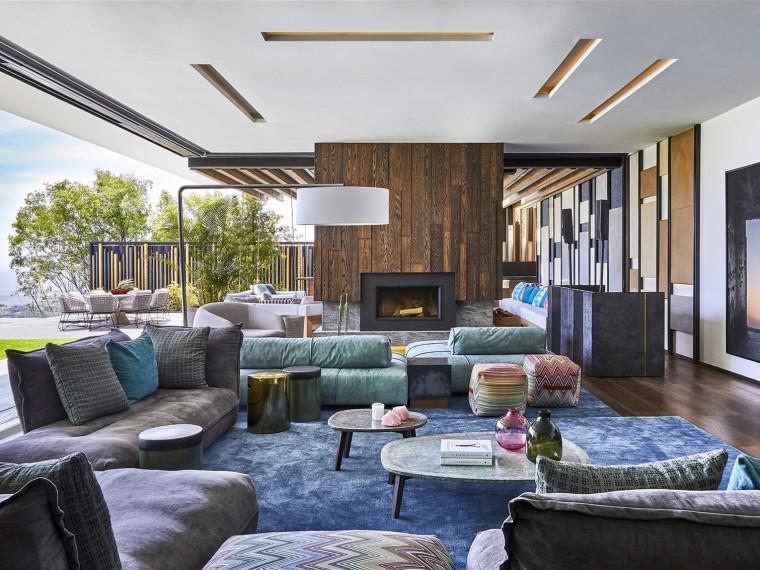 V型住宅平面资料下载-南非HillsideView住宅