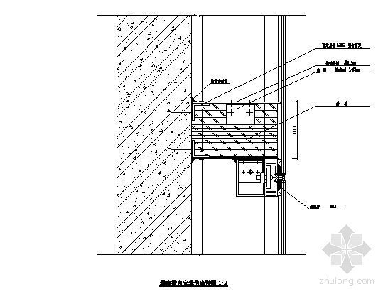 悬窗横向安装节点详图2